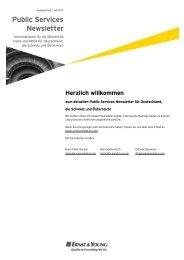Newsletter Ausgabe 103 - Public Services Newsletter