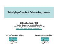 Nuclear Hydrogen Production A Preliminary Safety Assessment