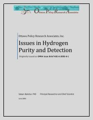 Issues in Hydrogen Purity and Detection
