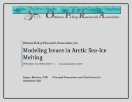 Modeling Issues in Arctic Sea-Ice Melting