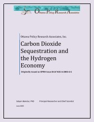 Carbon Dioxide Sequestration and the Hydrogen Economy