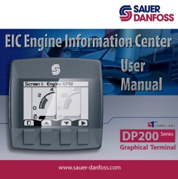 DP2xx EIC Users Manual (PDF 6 MB) - Sauer-Danfoss