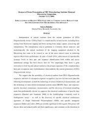 Implications of Recent DNA Electrical Conductance Results for ...