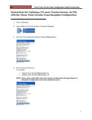 Instructions for Updating a FX-5000 Tension System .ini File with the ...