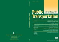Public Transportation - National Center for Transit Research ...