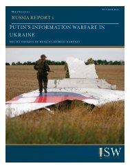 PUTIN'S INFORMATION WARFARE IN UKRAINE
