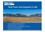 Wind Power Grid Integration in USA