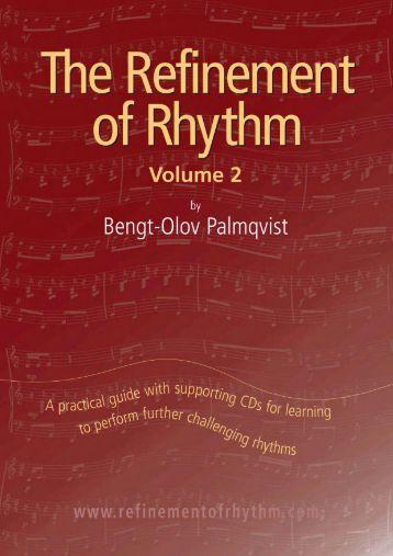 The Refinement of Rhythm, Volume 2 - Inside Music Teaching