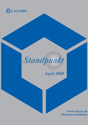 Standpunkt - Lazard Funds