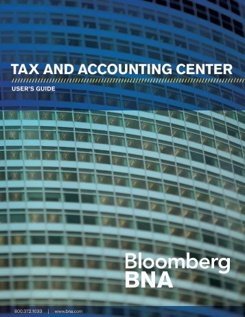 TAX AND ACCOUNTING CENTER