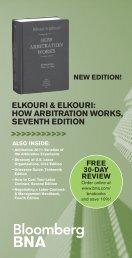 ELKOURI & ELKOURI HOW ARBITRATION WORKS SEVENTH EDITION