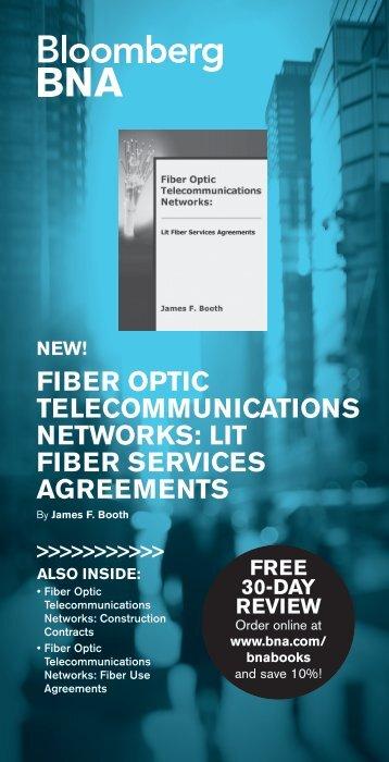 FIBER OPTIC TELECOMMUNICATIONS NETWORKS LIT FIBER SERVICES AGREEMENTS