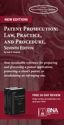 Patent Prosecution Law Practice and Procedure
