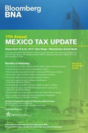 MEXICO TAX UPDATE