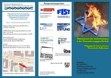 Dimensionen des Antisemitismus in der ... - Junge GEW Köln