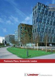 Peninsula Place, Greenwich, London - Lindner Group
