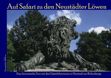 Auf Safari zu den Neustädter Löwen