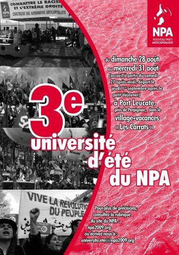 Plaquette UE 2011.pdf - NPA