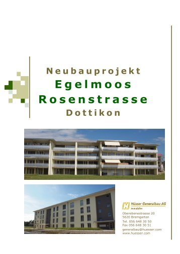 Egelmoos Rosenstrasse - ImmoScout24