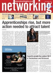 Apprenticeships rise but more action needed to attract talent