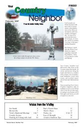February 2007 - Your Country Neighbor