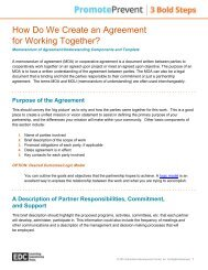 How Do We Create an Agreement for Working Together?