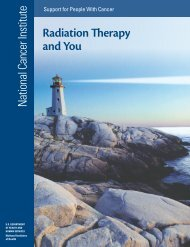 Radiation Therapy and You - National Cancer Institute