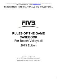 CASEBOOK For Beach Volleyball
