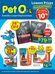 PetO October Catalogue 2015