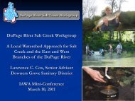 Presentation. The DRSCW; A Local Watershed Approach for Salt ...