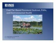 Coal-Tar-Based Pavement Sealcoat PAHs and Environmental Health