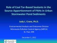 Stormwater Pond Sediments