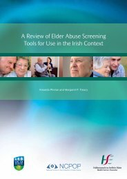 A Review of Elder Abuse Screening Tools for Use in the Irish Context