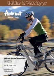 E-Bike & Velotipps - Andermatt