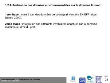 Diagnostic environnementale du littoral - Ville de Granville