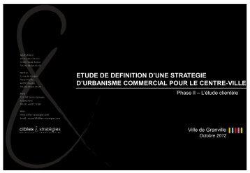 Présentation PowerPoint - Ville de Granville