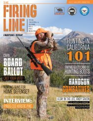 Firing Line July-Aug