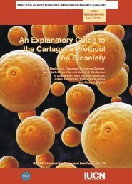 An Explanatory Guide to the Cartagena Protocol on Biosafety