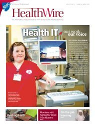 AFT Healthwire, March/April 2010, Health IT - American Federation ...