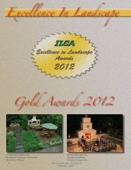 Excellence In Landscape Gold Awards 2012