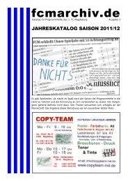 Jahreskatalog Programmhefte 2011/12
