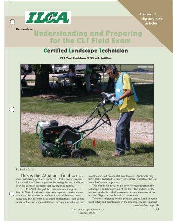 5 53 Rototiller Illinois Landscape Contractors Ociation
