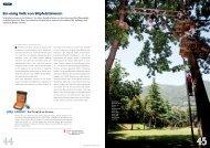 Ein einig Volk von Wipfelstürmern - Parco Avventura