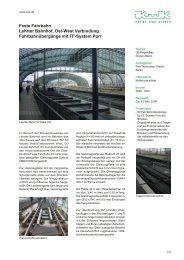 Feste Fahrbahn, Lehrter Bahnhof, Ost-West-Verbindung ...