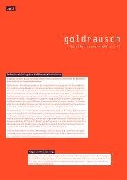 2013 - goldrausch art IT