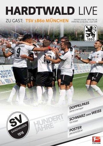 Hardtwald Live, Heft 4, Saison 2015/16