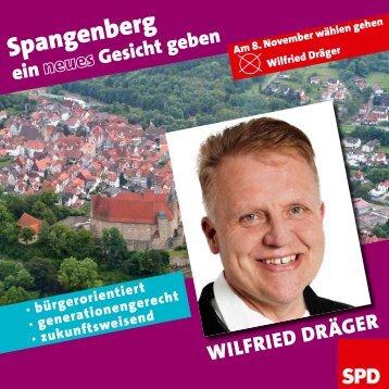 Spangenberg ein neues Gesicht geben - Wilfried Dräger