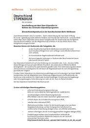 Ausschreibung von Mart Stam Stipendien im Rahmen des ...