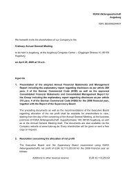 Invitation with agenda (PDF) - KUKA Aktiengesellschaft