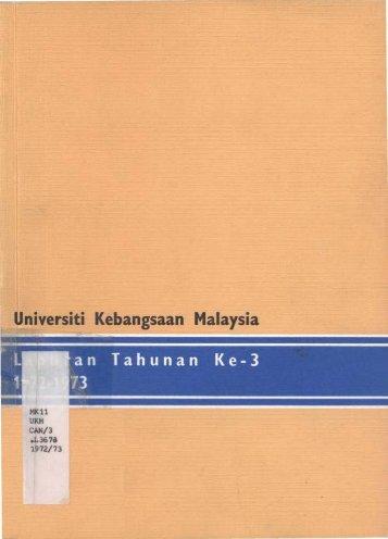 Universiti Kebangsaan Malaysia - UKM